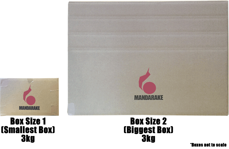 MANDARAKE | Shipping Options